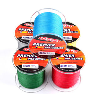 300M 6LB-100LB Super Strong PE 4 Strands Spectra Braided Sea/Rock Fishing Line