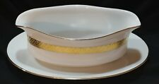 Pure Gold by Centurion collection gravy boat with under plate