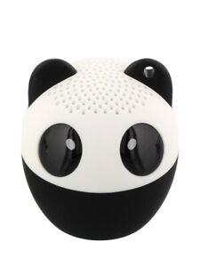 Bluetooth Speaker Panda with Remote Shutter Release White 4.3x4.5cm