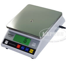 10Kg x 0.1g Digital Electronic Jewelry Balance Scale LB g Gold Lab Weigh 457A US
