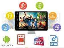IP TV Subscription 3 Months Smarters Pro Smart TV Android Box MAG