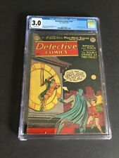 DETECTIVE COMICS #187 CGC 3.0 OW PAGES, GOLDEN AGE TWO FACE, SCARCE ISSUE 🔥🔥🔥