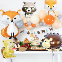 4pcs Animal Foil Balloons Birthday wedding Forest Party Decorations ball lcJ Pg