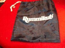 Rummikub Tile Carry Storage bag blue draw string