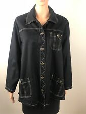 Additions Maternity Jacket Black Size 8
