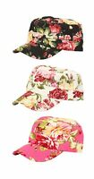 Ladies Baseball Cap Floral New Hat Festival Cotton Summer Womens Peak Cap Beach