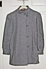 Girl's/Woman's Wool Winter Coat - Size Misses 6/8 - USA Made