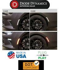 LED Side Marker Lights w/ Clear Lens 2016-2018 Chevrolet Camaro - Diode Dynamics