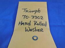 Triumph 70-3302 NOS Hard Rolled Washer  NP39