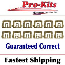 Fits 71 72 73 74 Cuda Barracuda Challenger Windshield Reveal Molding Clips Kit Fits 1973 Barracuda