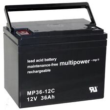 Blei Gel Akku 12V 36Ah AGM für PORTALAC TEV12360 TEV 12360 UB12350 Accu Batterie