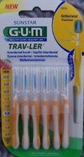 Gum  Trav-Ler 6 Stück gelb 1514  Trav Ler  antibacterial  protection
