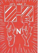 (RAVE FLYER 1995) HARD N HEAVY @ DEPTFORD,LONDON,SE8 STEVIE HYPER. MC MC.DJ HYPE