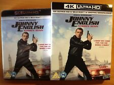 JOHNNY ENGLISH STRIKES AGAIN (4K UHD Blu-ray) + SLIPCOVER *NEW/SEALED*