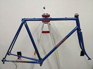 1983 Trek 510 lugged steel frame fork Reynolds 501 tubing 22 in