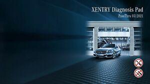 Mercedes Xentry DAS Passthru 2021.03 for J2354 Devices+ Original Offline SDFlash