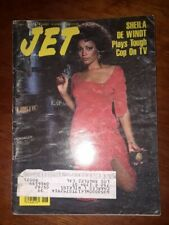 Jet Magazine May 3 1982 - Sheila de Windt - William Marshall Estate