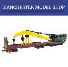 Jouef Junior HJ6142 HO 1:87 Railway Crane & bolster wagon NEW BOXED