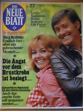 DAS NEUE BLATT 23 - 30.5. 1974 Guido Baumann Lilo Pulver Inge Meysel Vera Brühne
