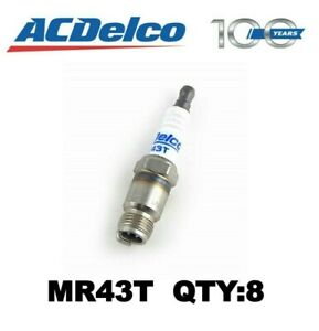 8 Pack of Marine Spark Plugs ACDelco MR43T 19355200 350 305 *FREE SHIPPING*