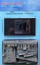 Aires 1/32 Nakajima Ki84 Hayate Cockpit Set for Hasegawa # 2084