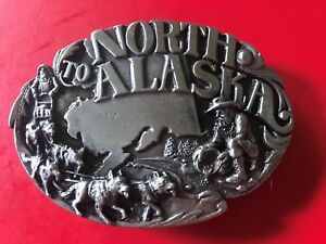 1984 Vintage North to Alaska Siskiyou Belt Buckle
