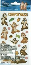 DISNEY CHIP and DALE Chipmunks Mickey Mouse Clubhouse Stickers Scrapbook