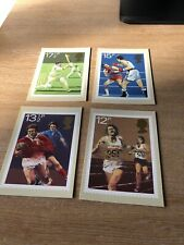Royal Mail Stamp Post Cards PHQ 47 Sports 1980 Set