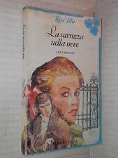 LA CARROZZA NELLA NEVE Anne Benson Fabbri 1982 libro romanzo harmony racconto di