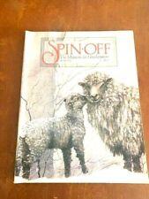 Spin-off magazine winter 19991: Finn Sheep, Dyes, Camel Down, Silk,