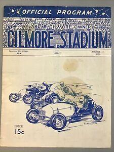 1950 Gilmore Standium Earl B Gilmore Owner Midget Race PERRY GRIMM
