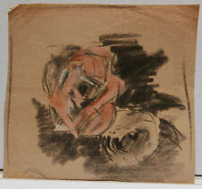 Dessin Original Aquarelle - PAUL COUVREUR - Roses - vers 1930 - PC77