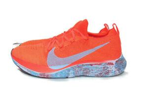 Nike Sneakers Zoom Vaporfly 4% Flyknit Bright Crimson Hydro Dip Running Mens 8