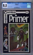 PRIMER #2 CGC 8.5 1ST APP GRENDEL & ARGENT