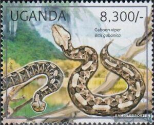 Uganda 2784 (completa edizione) MNH 2012 Rettili
