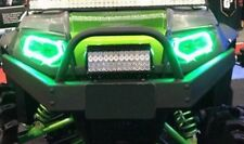 RZR 900 xp 800 / 570 LED polaris Halo Rings set for headlights angel eye GREEN
