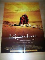 KUNDUN - original Kinoplakat A1 ´98 - MARTIN SCORSESE