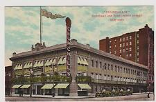 CHURCHILL'S RESTAURANT EXTERIOR & OLD AUTOS, BROADWAY & 49TH ST. NYC