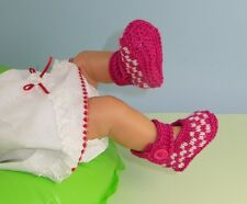 Impreso instructions-baby cuadros correa de tobillo Sandalias Botines Tejer patrón
