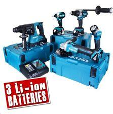 MAKITA TOPKIT5DJ 18v Li-ion 5.0Ah Brushless Cordless 5 Piece Kit