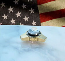 NO BEARING, SIZE R188 Mini Fidget Spinner w/ VC Buttons, Made in USA Smart-Mfg!