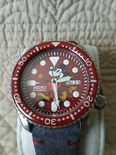 Seiko Automatic Diver 7S26-0020 Modified Mickey Mouse Watch