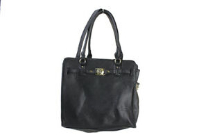 Marc Fisher New Black Crossroads Belted Tote Msrp $98
