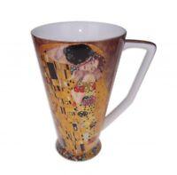 Fine Bone China The Kiss Cup Coffee Tea Mug w Handle Cup 500cc