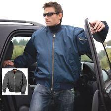 Result Zip Nylon Bomber, Harrington Coats & Jackets for Men