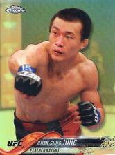 2018 TOPPS UFC CHROME REFRACTOR  KOREAN ZOMBIE #94 CHAN SUNG JUNG
