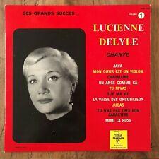 LUCIENNE DELYLE - CHANTE SES GRANDS SUCCES - VOLUME 1 - LP