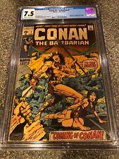 Conan the Barbarian #1 CGC 7.5 1st Appearance Conan VF- Graded 1970 Marvel