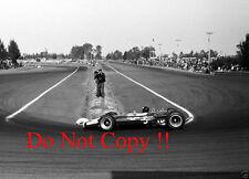 Jim Clark Lotus 49 Winner Mexican Grand Prix 1967 Photograph 4