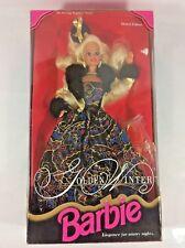 Mattel 1993 Golden Winter Barbie - Evening Elegance Series Limited Edition